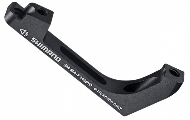 Shimano SM-MA Adaptors Flat Mount to Postmount Brake and fixing bolts