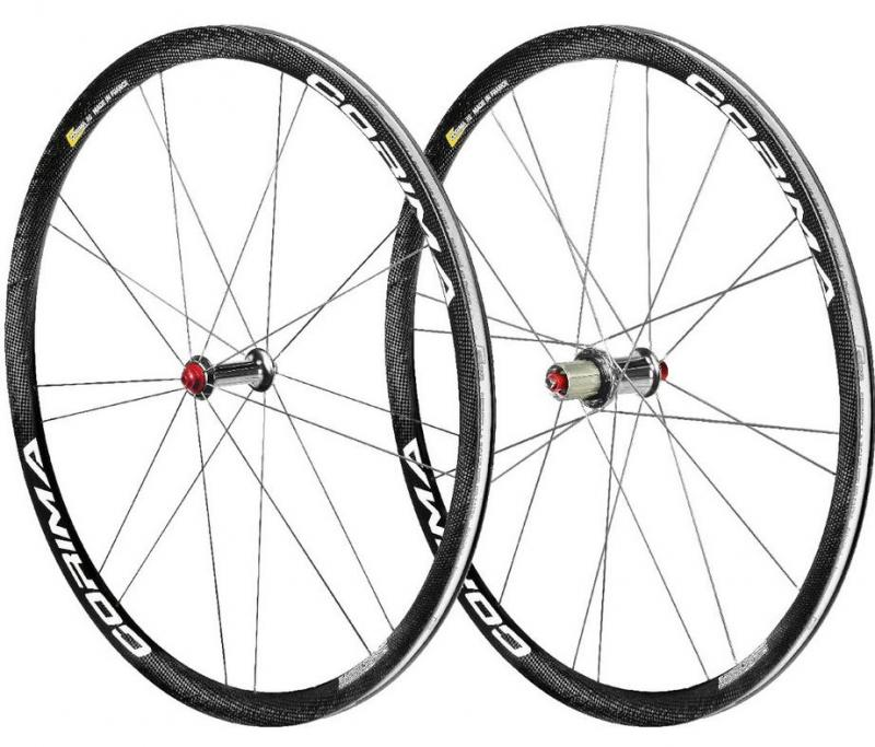 Corima WS BLACK 32 mm clincher