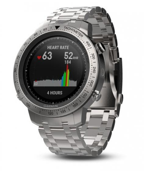 Garmin Fenix Chronos Stainless Steel