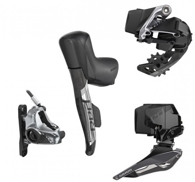 SRAM RED eTap AXS upgrade-set Disc FM 2x12