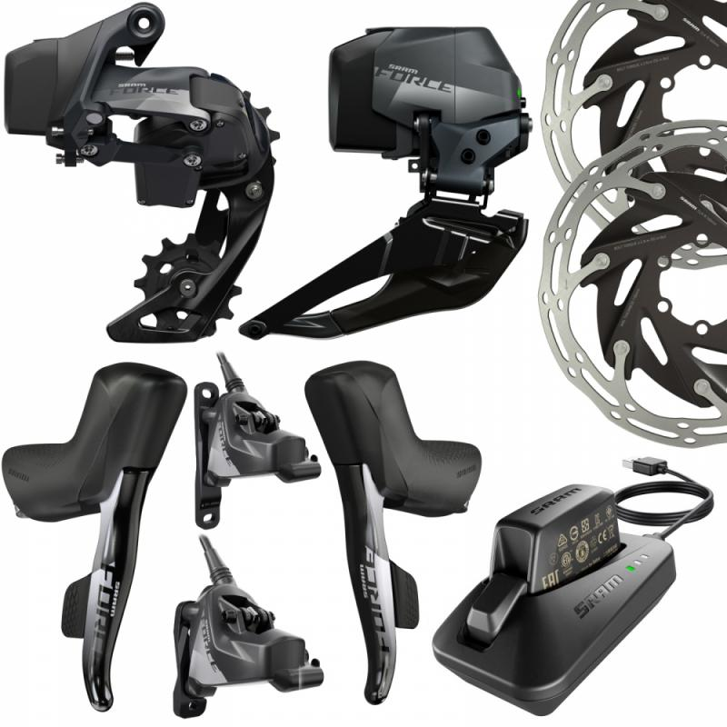 SRAM Force eTap 19 AXS Groupe Disc FM 2X12