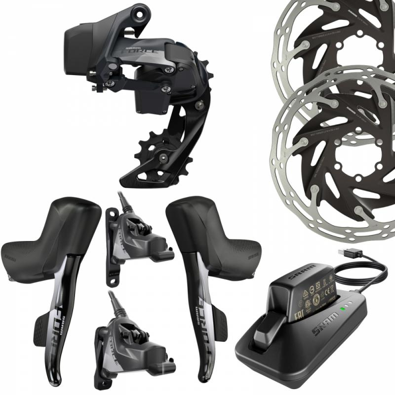 SRAM Force eTap 19 AXS Groupe Disc FM 1X12