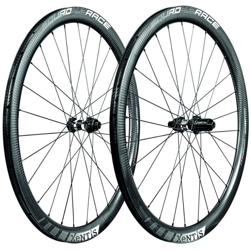 Xentis Squad 4.2 Race Disc- CL / TB - matt black / white