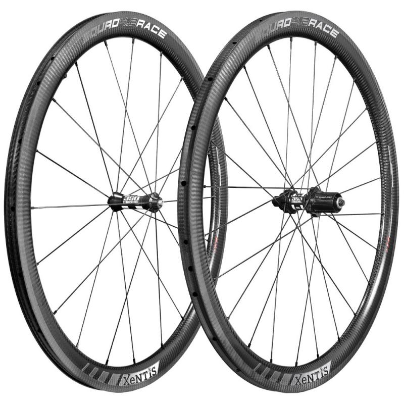 Xentis Squad 4.2 Race Rim- CL / TB - matt black / white