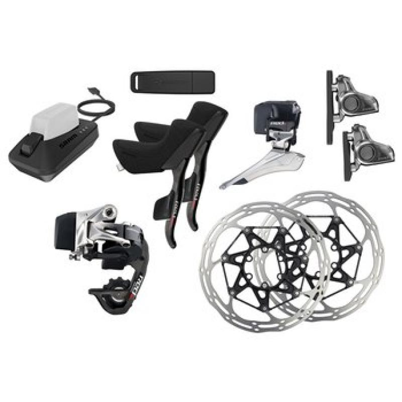 SRAM RED eTap Road Disc Groupset Flat mount