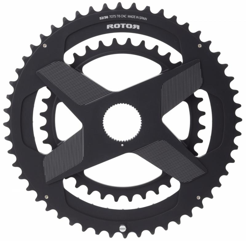 Rotor ALDHU 3D+ Direct Mount, Spidering, Double Chainring