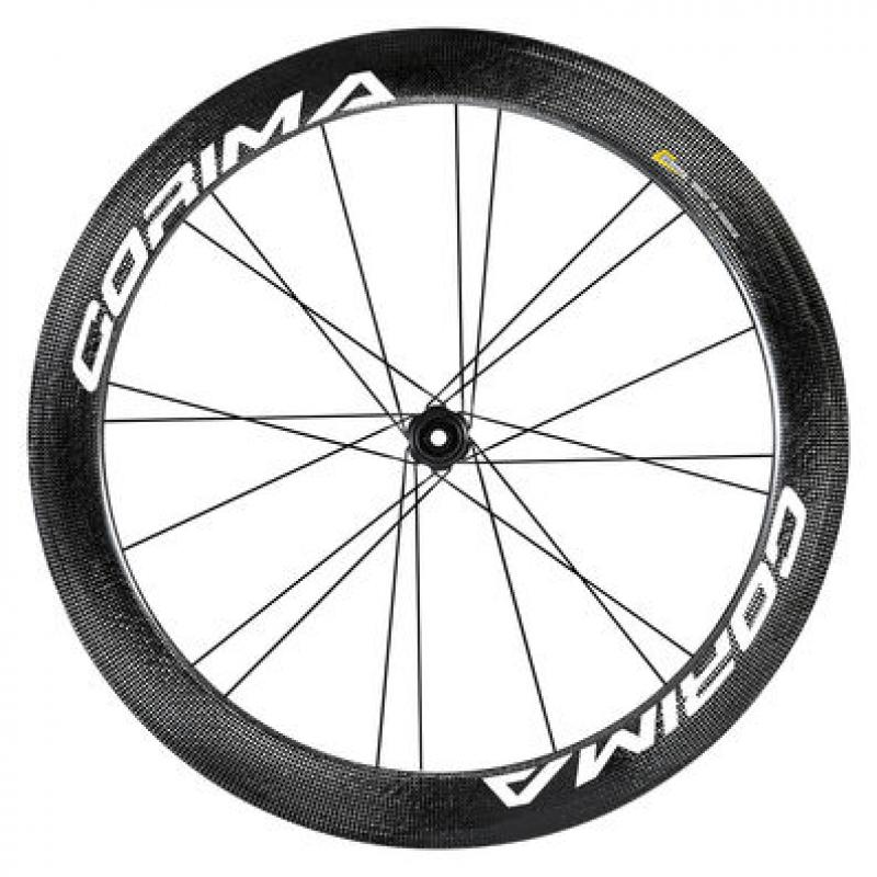 Corima  WS BLACK  58 mm Clincher CenterLock Thru Axle
