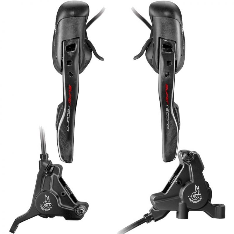 Campagnolo Super Record EPS Ergopower  Hydraulic DB - Flat Mount  12s