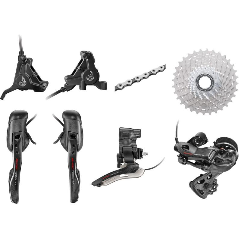 Groupset Campagnolo Super Record EPS 2x12s 2019 Hydraulic Disk brakes