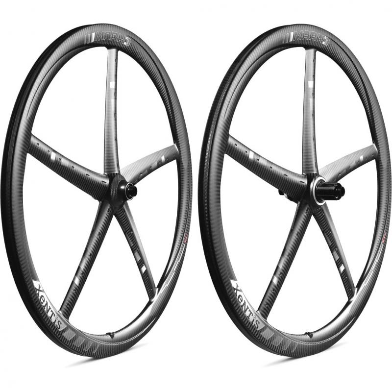 Xentis MARK3  Tubular Disc matt black/white