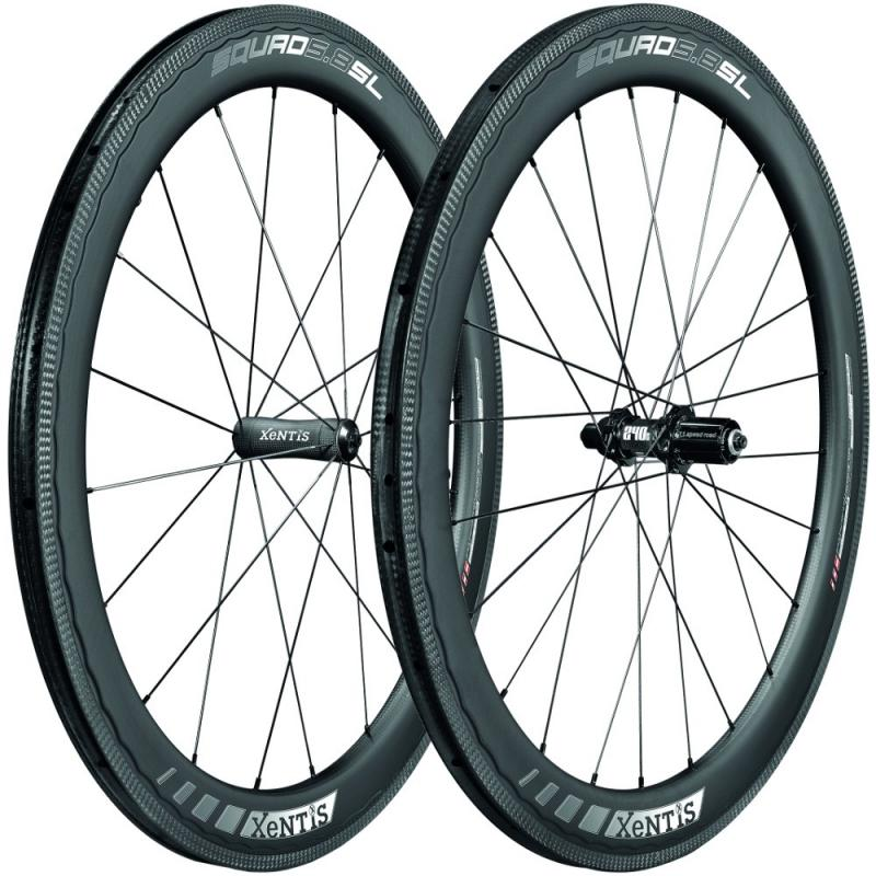 Xentis Squad 5.8 sl Clincher/ TL ready matt black/ white